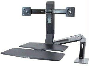 Worksurface System (Ergotron Workfit-A Dual With Worksurface