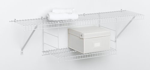 ClosetMaid Hanging Shelf, White #1048