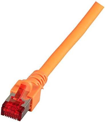 S-STP , Male//Male 1/m, Cat6, RJ45, Orange, S//FTP EFB-Elektronik S//FTP 1/m Cat6/1/m Cat6/S//FTP S-STP /RJ-45/Network Cable Network Cable/