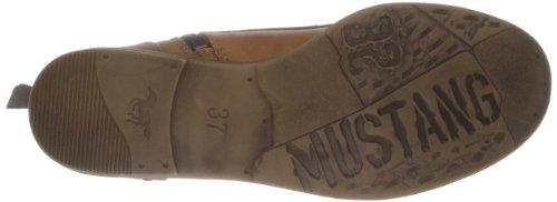 Mustang 1157-503-307, Bottes Classics courtes, doublure froide femmes Marron (307 Cognac)