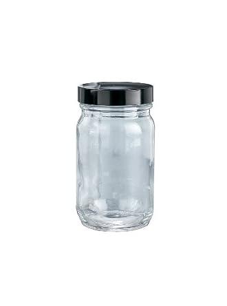 Sujetadores de plástico de boca ancha botellas de vidrio tipo III Soda Lime con GPI rosca