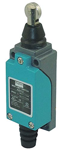 (Dayton 12T958 Compact Limit Switch, SPDT, Vrt, Top)