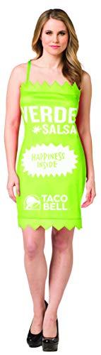 Taco Bell Sauce Packet Dress Verde Costume,