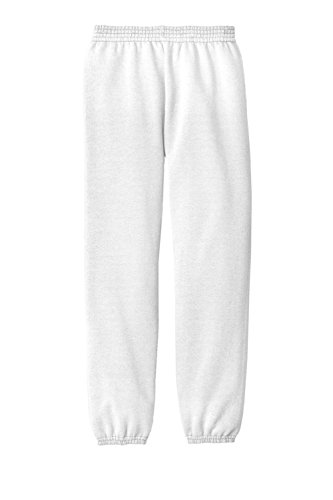 Gravity Threads Youth Core Fleece Sweatpant - White - (White Youth Sweatpant)