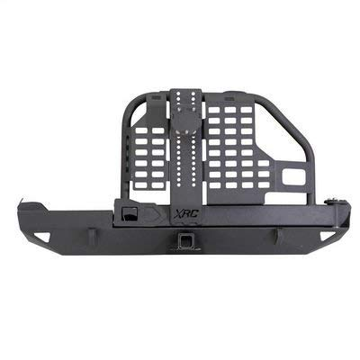 Smittybilt 76851 XRC Rear Bumper and Tire Carrier for 1984-2001 Jeep Cherokee XJ