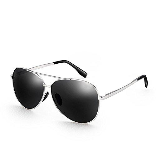 de De Moda al Conduciendo Hipsters Aire Gafas Espejos Gafas FZG La Plata Libre Sol Sol Negro Hombres De Antipolarizadas Gafas Color Los 6wIwZqnz5x