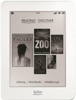 Kobo Mini Pantalla táctil 2GB WiFi Blanco lectore de e-Book ...