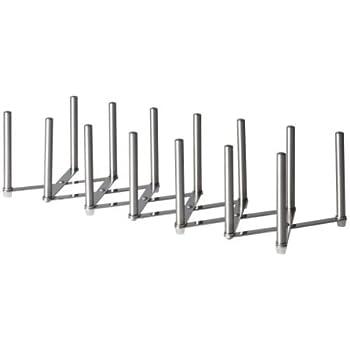 Ikea 701.548.00X2 Variera Pot Lid Organizer, Stainless Steel, Set of 2