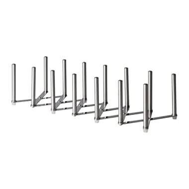 Ikea VARIERA 701.548.00 Pot Lid Organizer, Stainless Steel