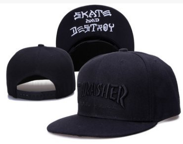 3a80ce0b5d3 Amazon.com  Thrasher Fashion Unisex Snapback adjustable Baseball Cap ...