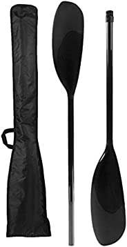 1Pair Kayak Paddles, Double End Paddles Adjustable Angle Carbon Fiber Paddle Stand Up Surfing Kayak Inflatable