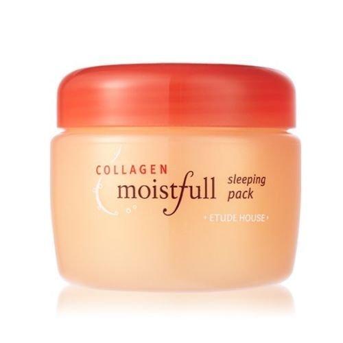 [Etude House] Collagen moistfull sleeping pack 100ml, moisture