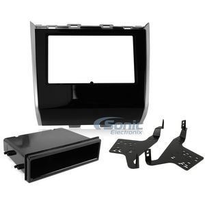 Metra 99-7626HG Single/Double DIN Dash Kit for 2013 and Nissan Pathfinder (Black) ()