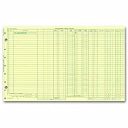 EGP One Write Duplicate Data Entry Journal Sheet