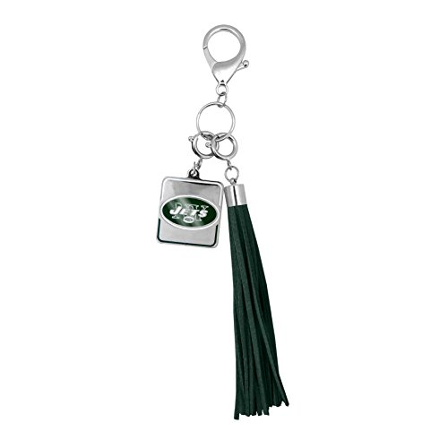 NFL New York Jets Tassel Purse Charm ()