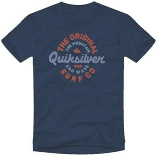 Quiksilver - Camiseta de manga corta (talla M/12), color azul: Amazon.es: Ropa y accesorios