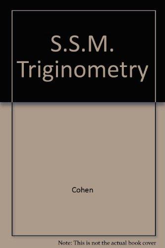 S.S.M. Triginometry