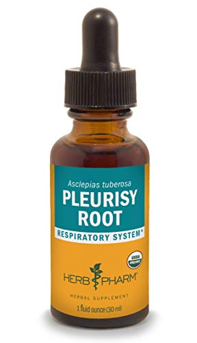 Herb Pharm Pleurisy Root Liquid Extract for Respiratory System Support - 1 Ounce