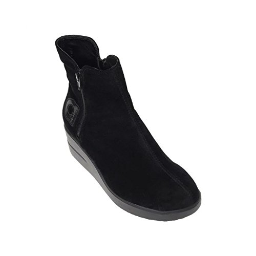 Botines 211 Rucoline Mujer Negro Plataformas 34 Con By Agile wq1xAp