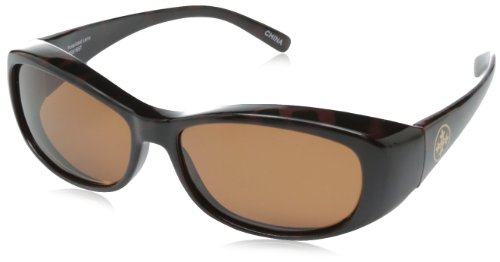 Solar Shield Sammy Polarized Rectangular Sunglasses ,Tortoise,51 - Sun Sunglasses Polarized Shield