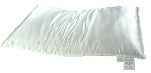 Silk filled Pillow Silk Charmeuse Cover - King
