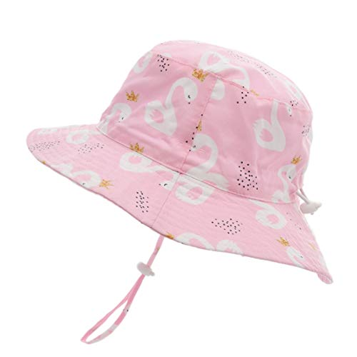 ERISO Baby Boy Sun Hat - UPF 50+ Safari Bucket Outdoor Beach Summer Hat Adjustable ((19.6