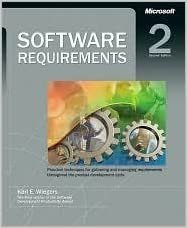 Software requirements, 2nd edition: karl e. Wiegers: 9789350041260.