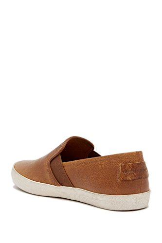 Sneakers Slip On In Pelle Dye Di Frye, Cognac