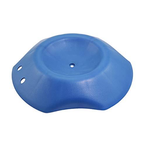 Vosarea Calzos de Rueda para Coche Caravana Remolque (Azul)
