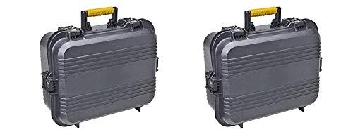 Plano 108031 AW XL Pistol/Accessories Case Black (Pack of 2) (Plano 108031 Aw Xl Pistol Accessories Case Black)