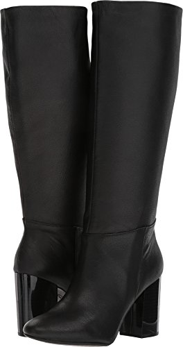 Kenneth Cole REACTION Women's Cherry Tall Shaft Heeled Knee High Boot, Black, 8.5 M US