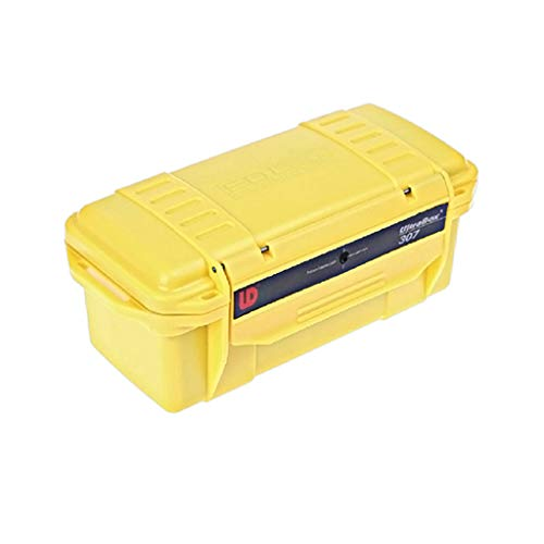 550 Waterproof Case - FIN86 Fashion Home Travel Storage Tools, Outdoor Survival Container Storage Case Airtight Waterproof Prevent Vibration Carry Box (Yellow)
