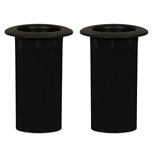- Goldwood Speaker Box Bass Air Ports 2 Speaker Port Tubes Black (PT-304-2)