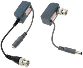 ビデオ信号バランサー 2 PCS CCTVカメラのビデオ/オーディオ/パワーバランUTPトランシーバ