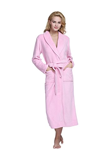 TONY CANDICE Womens Fleece Bathrobe product image