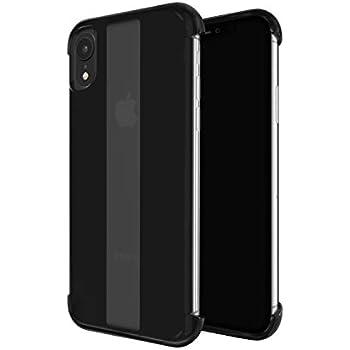 Details about iPhone XR Skech Stark Minimal Naked Shockproof Protective Case Color Black