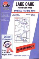 Lake Oahe Fishing Map: Pierre/Dam Area (South Dakota Fishing Series, ()