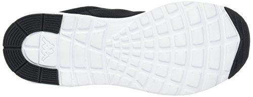Kappa Damen Classy Sneaker Schwarz (1110 Bianco / Nero)
