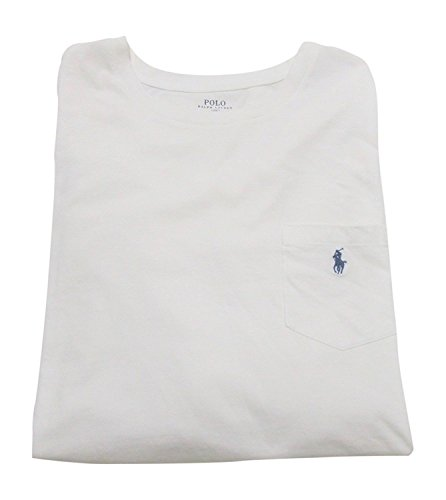 Polo Ralph Lauren Mens Jersey Classic-Fit T-Shirt, Large, White - Classic Fit Tee