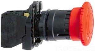 Schneider Electric xb5as8445緊急停止TTR with 1NO NC