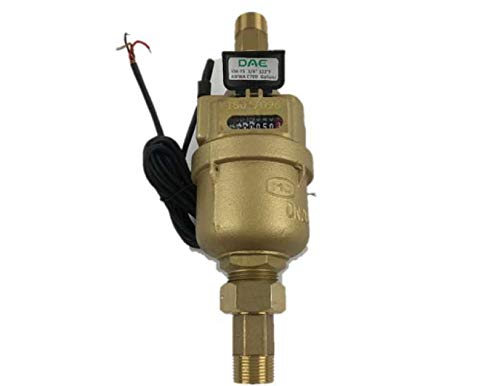 DAE VM-75P Positive Displacement Water Meter, 3/4