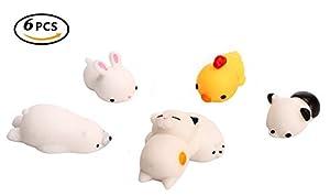 Squishy Stretchy Animals : Amazon.com: 6PCS Mini Squishy Squeeze Stretchy Animal Seals Healing Toys - Soft Kawaii Cute Slow ...
