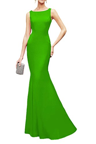 Chiffon Evening Dress Avril Party Lace Gorgeous Sleeveless Applique Green Gown Dress BqB1RU6w
