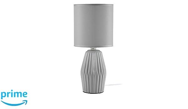 Mathias 3412007 lámpara Aki, cerámica/ABJ poliéster, E14 ...