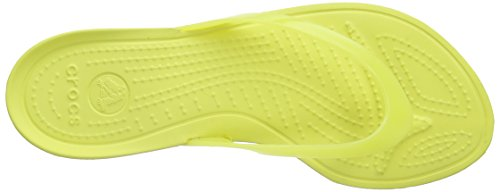 Really Tongs Crocs Sexy Jaune chartreuse Femme chartreuse UqEFnwCx