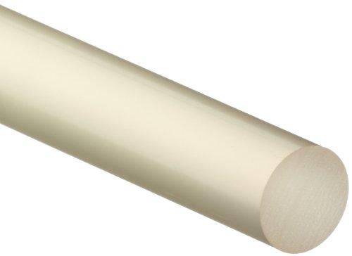 Rod Polyurethane (PUR (Polyurethane) Round Rod, Opaque Amber, 1