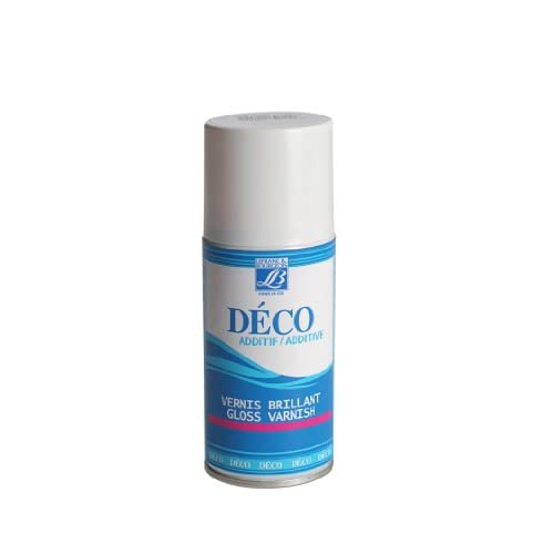 Lefranc Bourgeois Peinture Déco spray 150 ml Vernis Brillant Transparent