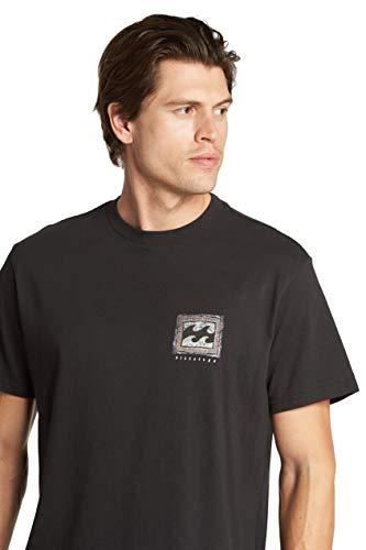 Billabong Men's Classic Short Sleeve Premium Logo Graphic T-Shirt