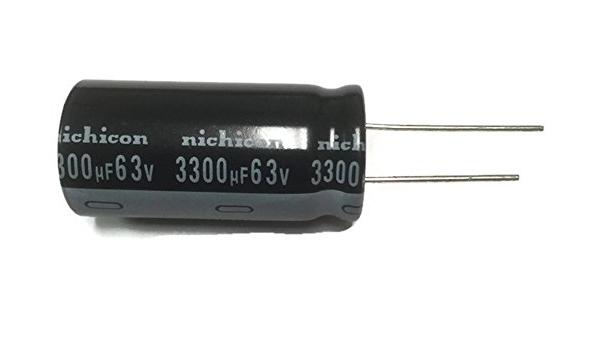 Axial Lead 20/% Capacitance Tolerance 10V 330/µF Capacitance NTE Electronics NEH330M10CB Series NEH Aluminum Electrolytic Capacitor