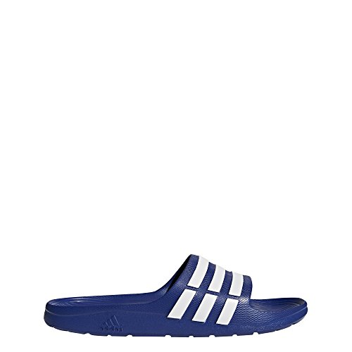 adidas Duramo Slide Sandal,True Blue/White/True Blue,12 M US ()